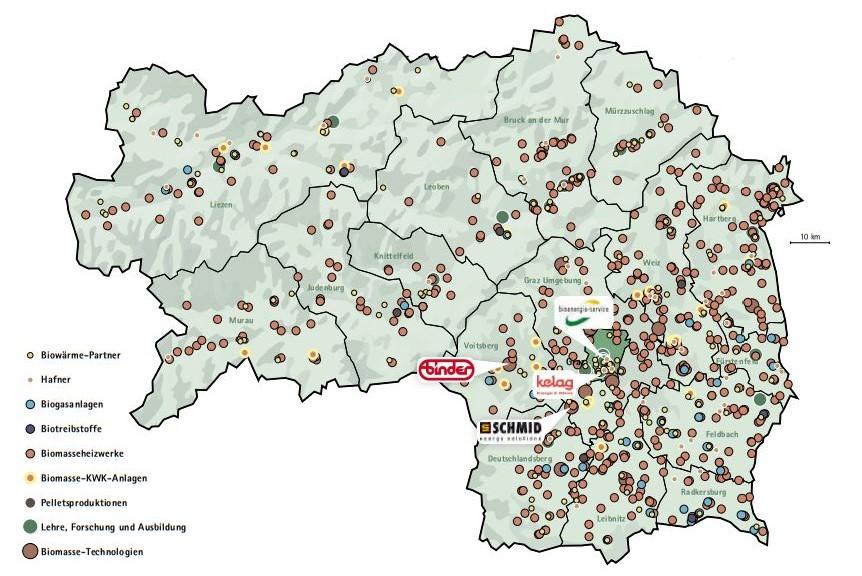 Biomasse Steiermark