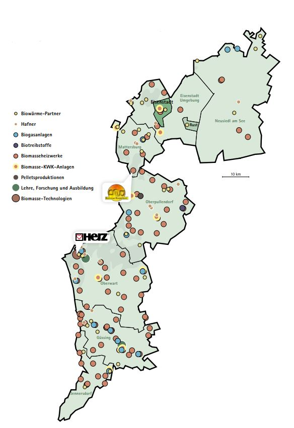 Biomasse im Burgenland